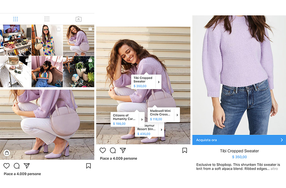 Come funziona Instagram Shopping