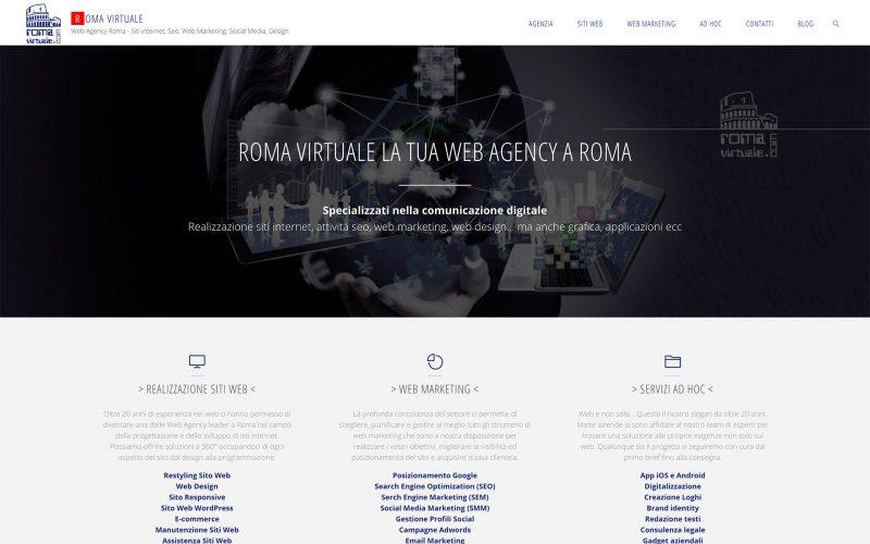 Un nuovo sito web per la Roma Virtuale