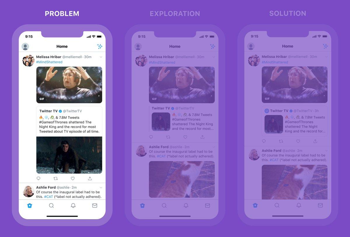Introduzione dei media nei retweet - Il problema per Twitter